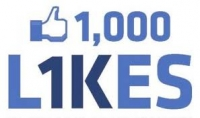 إضافة 1000 لايك إلى صفحتك على الفسبوك