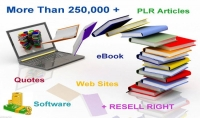 احصل الآن على 6 آلاف كتاب   300 ألف مقالة اجنبية plr ب 5 دولار لاول 25 شخص