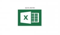كتابة البيانات على برنامج الإكسل مع السرعة والدقة .
