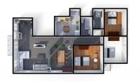 رسومات هندسية Interior design تصميمات 2d و 3d