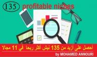ملف يحتوي على أقوى 135 نيش في التجارة الإلكترونية