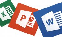 إدخال البيانات و معالجة النصوص   و تحويل الملف ل PDF