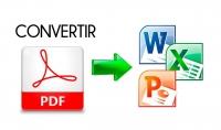 تحويل جميع الملفات الى pdf