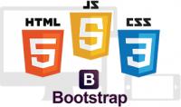 تصميم موقعك الشخصى بـ  html html5 css css3 javascript bootstrap
