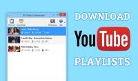 تحميل أي قائمة تشغيل يوتيوب Playlist ورفعها في ملف مضغوط واحد معد للتحميل السريع المباشر.