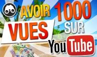 1000 مشاهدة اجنبية للفيديو الخاص بك في اليوتيوب