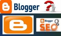 ساعمل لك مدونة بلوجر احترافية