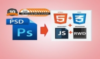 تكويد ملفات PSD الى صفحات HTML and CSS متجاوبه مع كل الشاشات والمتصفحات كذلك الامر التعديل على موقعك اذا كان لديك