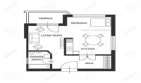 تصميم داخلي او خارجي لشقة او اي مساحة تريدها مع مراعاة الذوق الشخصي للفرد