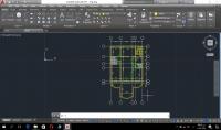 رسم وتصميم هندسي باستخدام برنامج الاوتوكاد