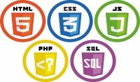 برمجة وتصميم موقعك باللغات HTML5 CSS3 JS PHP MYSQL JQUERY CI