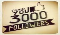 زيادة متابعين انستقرام 3000 متابع