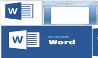الكتابة على word