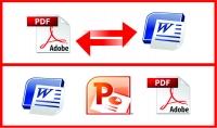 تحويل ملف PDF الي ملف Word  20 صفحة 5$