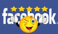 تقييم 5 نجوم لصفحتك على الفيس بوك