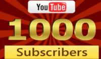 زيادة 1000 مشترك اجنبي لاي قناة يوتيوب