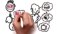 فيديو تعريفي لخدمتك او منتجك بإستخدام وايت بورد فقط 5$