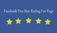اقدم لك 50 خمسة نجوم لاي صفحة فيسبوك في اي مجال حقيقية