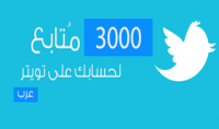 3000 متابع تويتر خليجي متفاعل