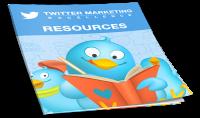 ارسال 4 كتب باللغة الانجليزية عن التسويق الالكتروني بتويتر