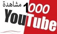 2000 مشاهدة امنة على اليوتيوب مشاهدات من كل العالم