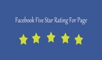 70 تقييم 5 نجوم لصفحتك على الفيس بوك