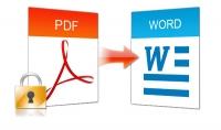 تحويل ملف PDF إلى مستند Word منسق جيداً 15 صفحة ب 5 دولار