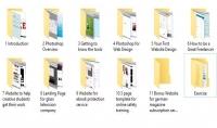مجوعة الكاملة لدروس photoshope webdisegn freelence