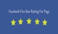 200 تقييم 5 نجوم لصفحتك على الفيس بوك