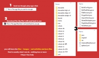 الحصول لك على السورس كود لأي تطبيق أندرويد من إختيارك   الملفات المستخدمه به لتساعدك على التعلم