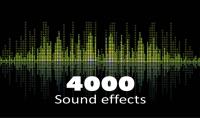 4000 مؤثر صوتي للمونتاج