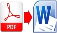 تحويل ملف صوتي او pdf الى word