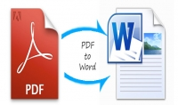 تحويل ملف pdf الى الوورد word و العكس 50 صفحة