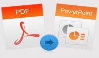 تحويل ملف pdf الى PowerPoint او الى صور
