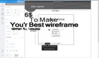 صنع تخطيط لتصميم موقعك wireframe