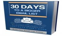 كتاب في التسويق الإلكتروني:30 يوما لبناء أكبر قائمة للبريد الإلكتروني