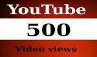 جاب 500 مشاهده حقيقيه او مشترك على قناتك على اليوتيوب