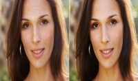 تعديل الصور الشخصية تفتيح الاضاءة ومعالجة العيوب   صورتان