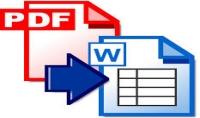 تحويل أي ملف pdf إلي ملف word عدد 10 صفحات بأي لغة