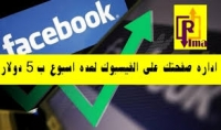 اداره صفحه الفيسبوك بشكل احترافي مقابل 5دولار فقط