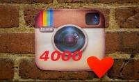 جلب 4000 إعجاب لصورة على أنستجرام