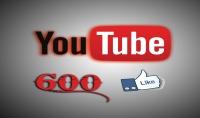 600 لايك سريع جدا لفديو تختاره على اليوتيوب ب 5 دولار فقط