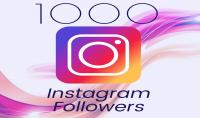 تزويد 1000 متابع على صفحتك في إنستغرام فقط ب 5$ زائد هدية