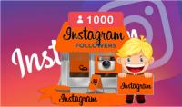 إضافة 1000 متابع حقيقى الى الانستغرام مع هدية مجانية لأول 20 مشترى