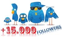 اضافة 15000 متابع (فلورز) فى حسابك فى تويتر
