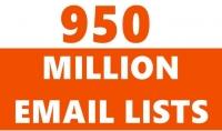 أحصل على 950 مليون ايمايل اجنبي للترويج لموقعك أو منتوجاتك