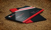 تصميم عصري لبطاقة الأعمال الخاصة بك