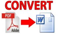 تحرير ملفات pdf و تحويلها الى word بسرعة تامة كل 25 صفحة مقابل 5 دولار