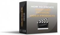 بيع الكتاب الإلكتروني : How To Create Your Own Physical Video Products