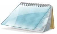 كتابة وتحرير نصوص بواسطة المفكرة Notepad